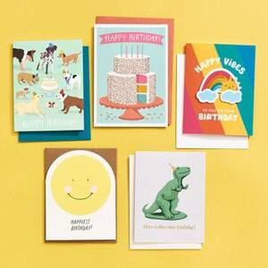 Young At Heart Birthday Card Bundle