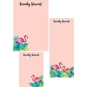 Flamingo Mixed Personalized Note Pads