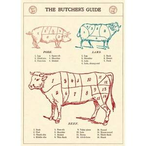 Butcher's Guide Flat Wrap