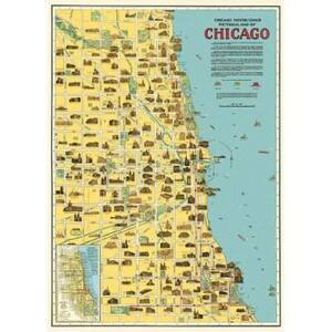 Chicago Map Flat...
