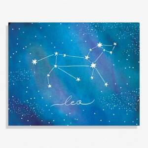 Constellation Leo Large Art Print