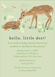 Deer Baby Shower...