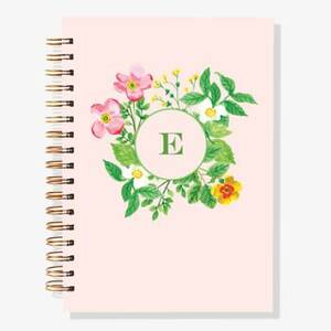12-Month Botanical Circle Custom Planner