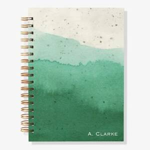 17-Month Emerald Glaze Custom Planner