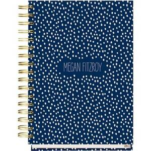 17-Month Vanilla Bean Night Custom Planner