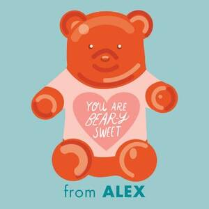 Bear-y Sweet Gift Tag Label