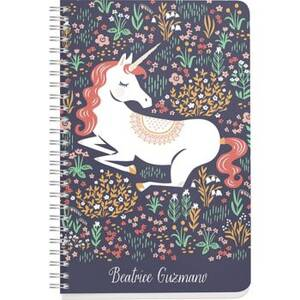 Floral Unicorn Custom Journal