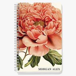 Peony Custom Journal