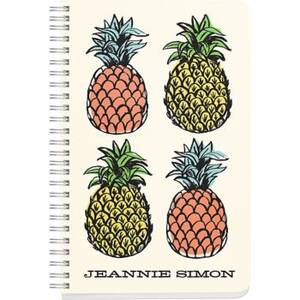 Pineapple Custom Journal