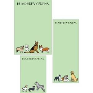 Dogs Mixed Personalized Note Pads