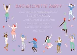 Soul Sisters Bachelorette Party Invitation
