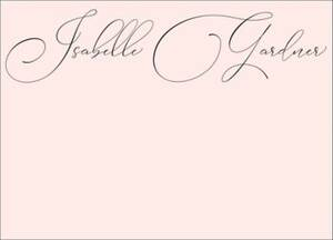 Signature Script Stationery