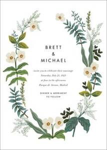Meadow Garland Wedding Invitation