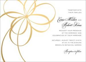 Belle Boulevard Foil Wedding Invitation