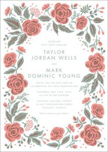 Jardin Wedding Invitation