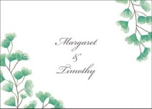 Maidenhair Stationery